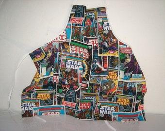 Boys Apron, Star Wars, size 3 to 6
