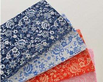 Chinese Brocade Fabric, Jacquard Fabric, Chinese Cheongsam Dress Fabric, Cosplay DIY Fabric Material (JJ1011)