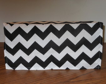 BLACK CHEVRON X-box with Kinect Cover, Handmade, Supplies