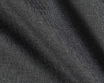 Black 100% Cotton French Terry Fabric - 10 yards RG1