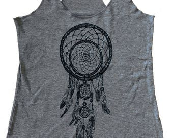 Dream Catcher Tank Top - Tri-Blend Tank - Available in sizes S, M, L, XL