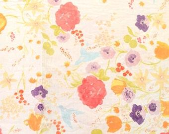 Nani Iro Kokka Japanese Fabric Fuccra : rakuen - Phi Phi - 50cm