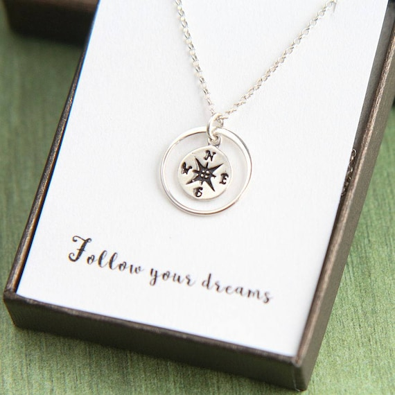 for sterling pendant her necklace graduation with silver made scroll