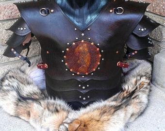 Leather Viking Armor - The Jarl