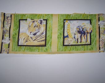 It's Zoological Pillow Panel