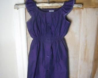 Shirt Dress (Flutter Sleeve)