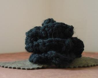 Crocheted Rose Barrette - Black (SWG-HB-ZZ01)