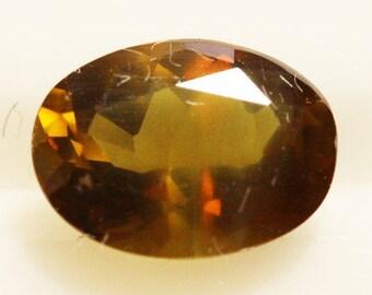Enstertite 1.03cts Oval Cut 7.40 x 5.40mm Sri Lanka H6-7.5 y9373 Brown Gem Loose Faceted Gemstone Collector Gemology Gemological