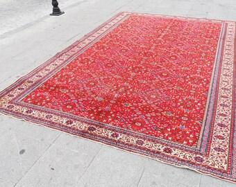 large RUg turkish - rug vintage large, turkish rug large rug large wool area rug,