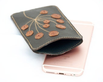 womens iphone 6 / 6s wallet, womens wallets wallet leather iPhone 6 case, iphone 6s case, chocolate brown wallet