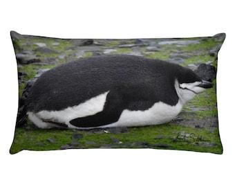 Penguin Pillow - Chinstrap Nap