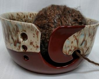 Yarn Bowl, Knitting Bowl, Large Yarn Bowl, Ceramic