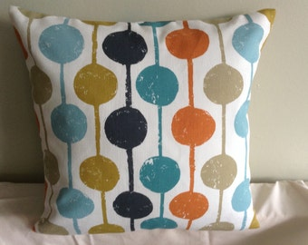 """Clearance 16"""" Handmade contemporary modern bright cushion cover,  pillow, scatter cushion."""