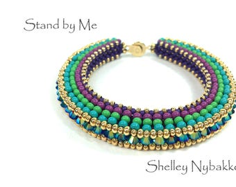 Stand by Me Bracelet DIY Kit  -  Peacock