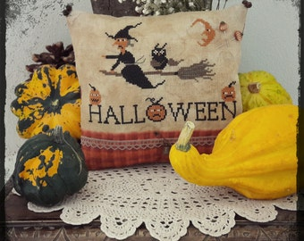 Happy Halloween by Tina - PDF Cross Stitch Pattern