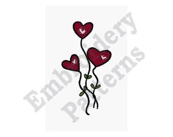 Hearts - Machine Embroidery Design