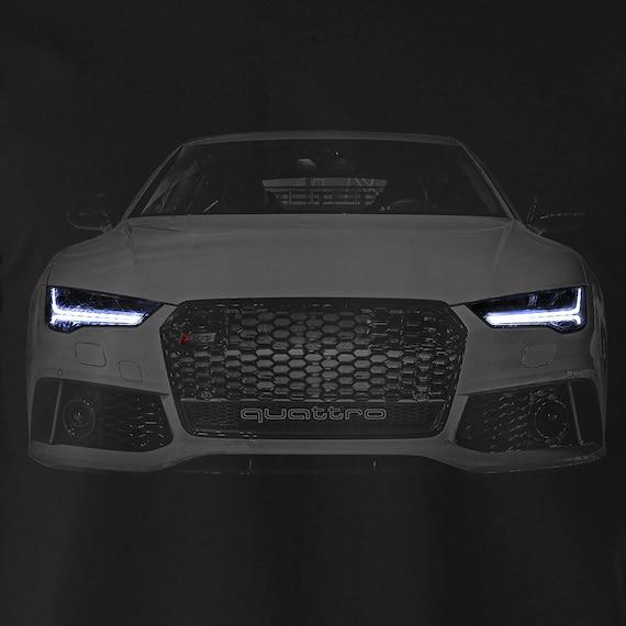 Audi RS7 S7 A7 T Shirt Black Tee Mens Gift Idea Garment