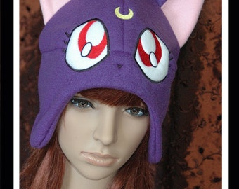 Sailor Moon Luna Fleece Hat