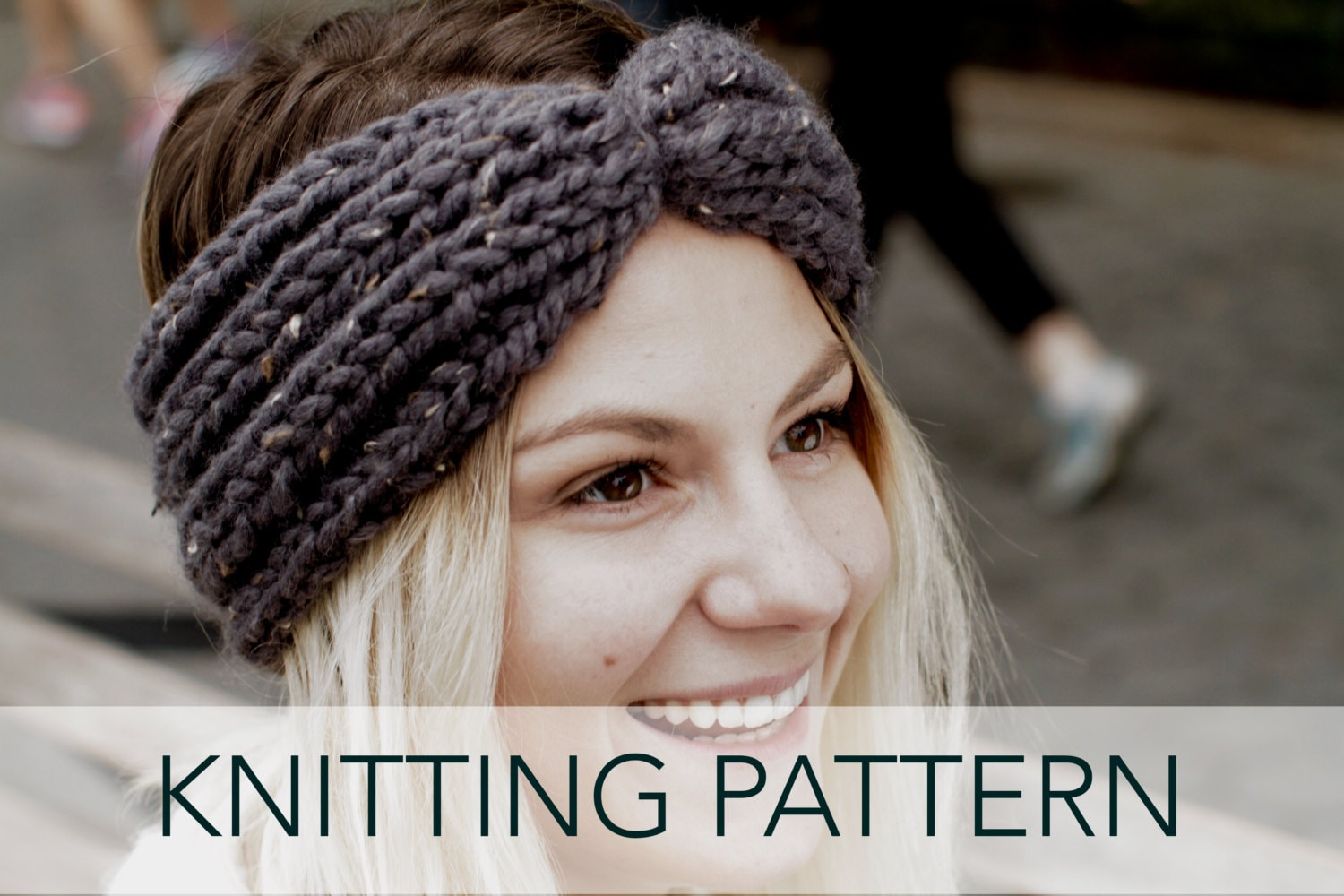 Knitting Pattern // Chunky Knit Turban Headband Ear Warmer // Globe ...