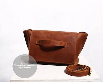 Leather crossbody purse, leather handbag, women leather bag, leather satchel, leather bag purse, women leather bag, women crossbody