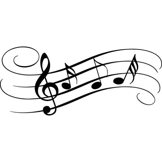 Sheet Music 2 Musical Note Symbol Treble Clef Classical .SVG