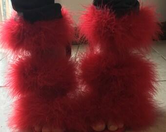 Perfect Marabou Heels