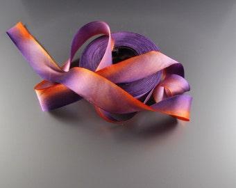1» soie mariage DECOR baguettes ruban garniture Harry soie Satin Cymbidium 3 yard longueur