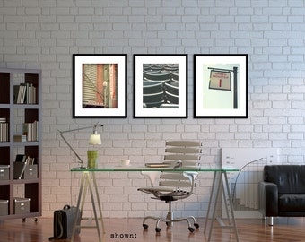 Fenway Park Photo Print Set of 3 for Your Red Sox Decor