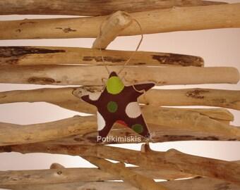Christmas felt ornament, star, Christmas, handicraft, felt decoration, Christmas ornament