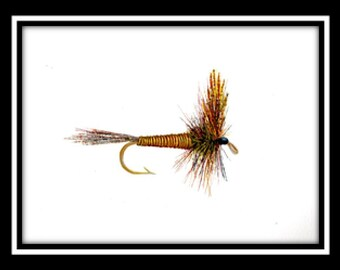 Red Quill Dry Fly Print