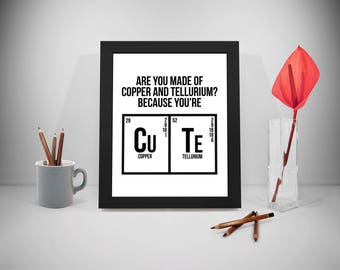 Chemistry Poster, Science Poster, Science Art, Science Print, Science Decor, School Quotes Print, Education Poster, Classroom Poster