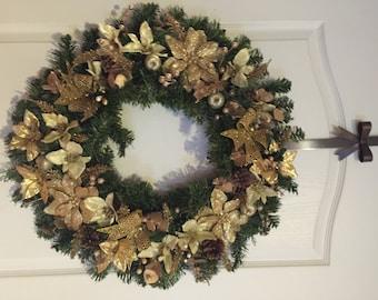 Handmade Artificial Holiday Wreath
