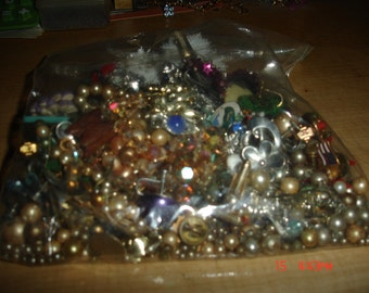 Mixed Bag of Costume Jewelry