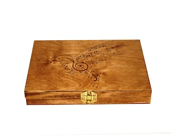 Large Oboe Reed Case, holds 64 reeds - CUSTOM EXAMPLE