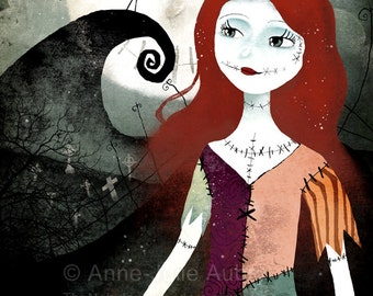 A Nightmare Before Christmas 50/100 - Deluxe Edition Print - Whimsical Art
