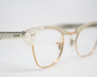 12k Cat eye glasses Imperial cateye frames NOS