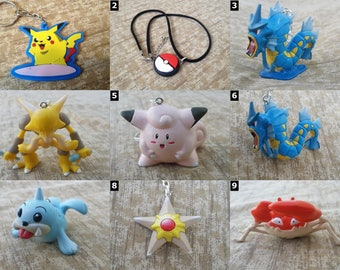 POKEMON GO - Jewelry and Accessories - Pikachu, Bulbasaur, Charmander, Squirtle, Eevee and more!