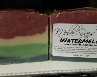 Watermelon - Hand Crafted Soap