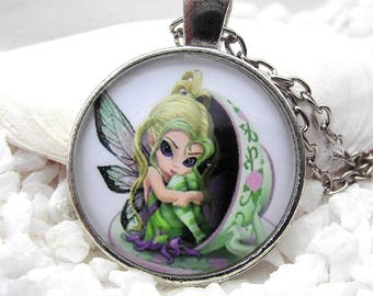 Necklace Elf Fairy Nostalgia