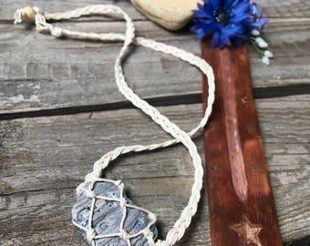 Shell Hemp Necklace