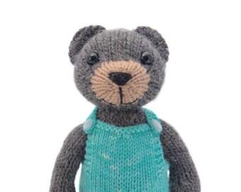 Big Teddy Knitting Pattern