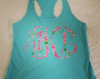 Lilly Pulitzer inspired Tanks