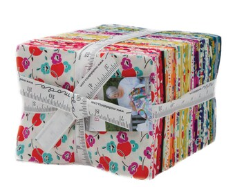 Beach Road Fat Quarter Bundle, COMPLETE COLLECTION, 40 Fat Quarters, by Jen Kingwell for Moda Fabrics, Quilting Fabric Scraps--18132AB