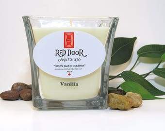 Vanilla Soy Wax Candle-Scented Candle