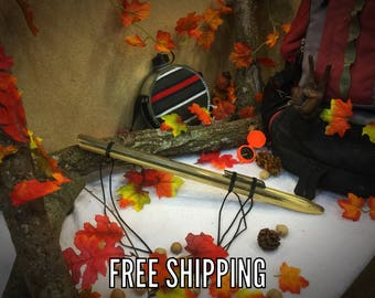 Outdoor gift, Personalized gift, Hiking Gear, Camping Gear, Hiking Stick, Camping Accessories,