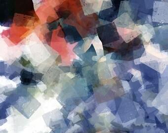 Hidden Lynx – Abstract Art - Original Wildlife Art - Downloadable Art Print - Instant Download - Exclusive