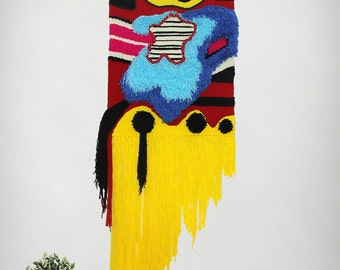 MADE TO ORDER !! Weave wall hanging, Wall decor, Weaving, Tapestry, Fiber Art, Handwoven, wallhanging, Wall Art, Handmade