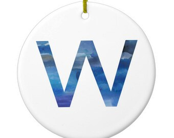 Fly the W Cubs Ornament