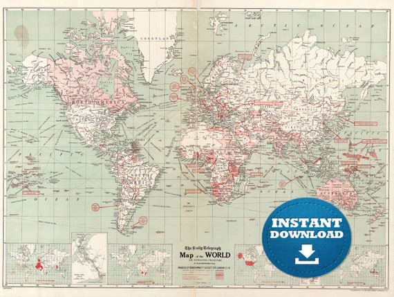Digital old world map printable download vintage world map digital old world map printable download vintage world map printable map large world map high resolution world map posterastralia publicscrutiny Gallery