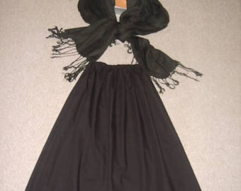 Girls/ladies victorian style costume. victorian teacher, 4 piece set